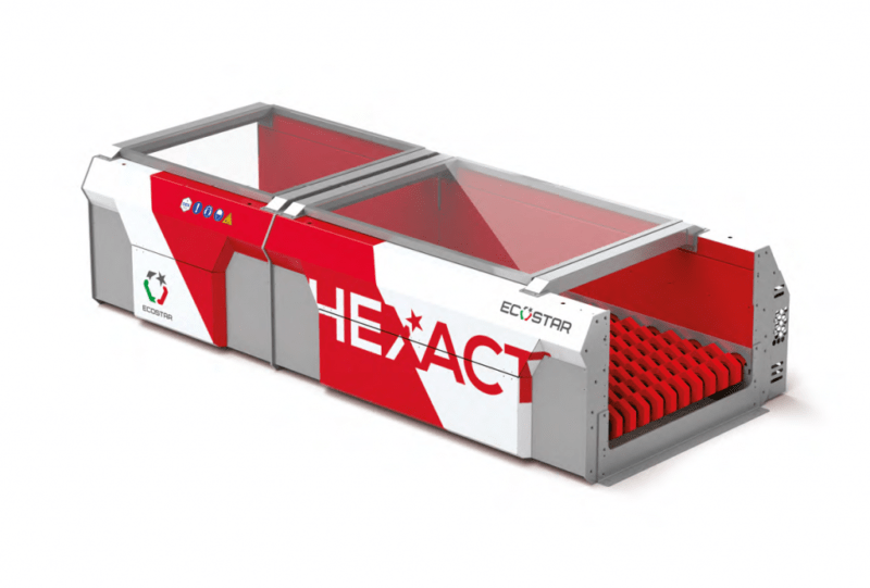Ecostar crible dynamique stationnaire HEXACT