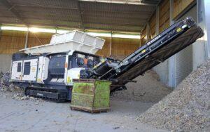 Broyeur mobile Terex Ecotec TDS V20 Lheureux 1 - Investir dans un Broyeur - broyeur agricole - broyeur à marteau - broyeur tracteur – broyeur déchets – broyeur mobile – broyeur stationnaire en France