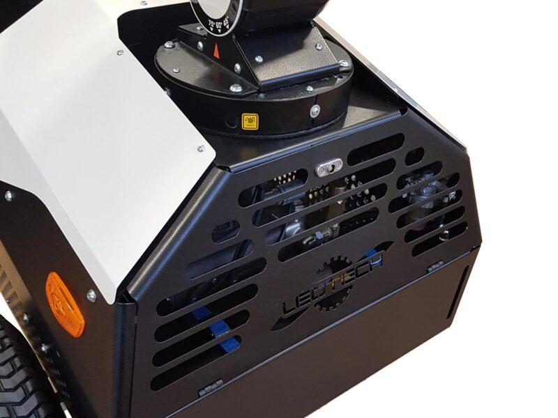 Brumisateur MOTOFOG TECLINEA MF40 Lheureux 5 - Description technique pour une location et achat d'un brumisateur mobile pour chantier disponible dans toute la France