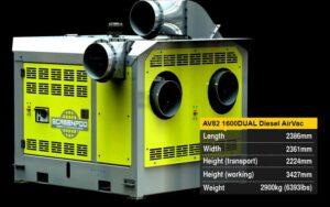 Déplastiqueur mobile Screenpod Airvac AV82 1