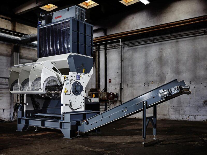 Granulateurs Metso MJ 1550 Lheureux 1 - Livraisond d'un Granulateur - Granulateur plastique - granulateur bois - granulateur séparateur - location granulateur - granulateur rotatif dans toute la France