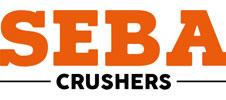 Logo SEBA CRUSHERS à retrouver en vente chez Lheureux