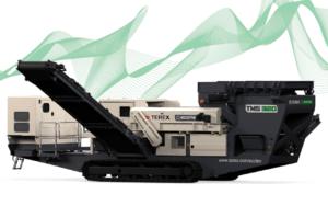 Photo du Séparateur à courant de foucault TMS 320 avec le bras ouvert - Terex Ecotec