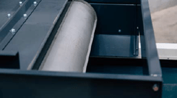 Rouleau néodyme à pôle radial haute résistance pour une récupération optimale des métaux ferreux sur le séparateur à courant de foucault TMS 320 - Terex Ecotec