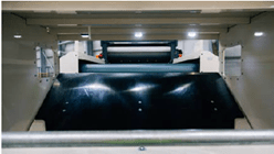 Courant de foucault à néodyme 22 pôles contenus dans une coque en fibre de carbonne ultra mince pour maximiser la récupération des métaux non ferreux du Séparateur à courant de foucault TMS 320 - Terex Ecotec