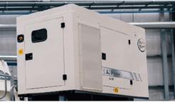 génératrice 60 kVA peu bruyante garantit une consommation de carburant et une facilité d'entretien optimales du séparateur à courant de foucault TMS 320 - Terex Ecotec